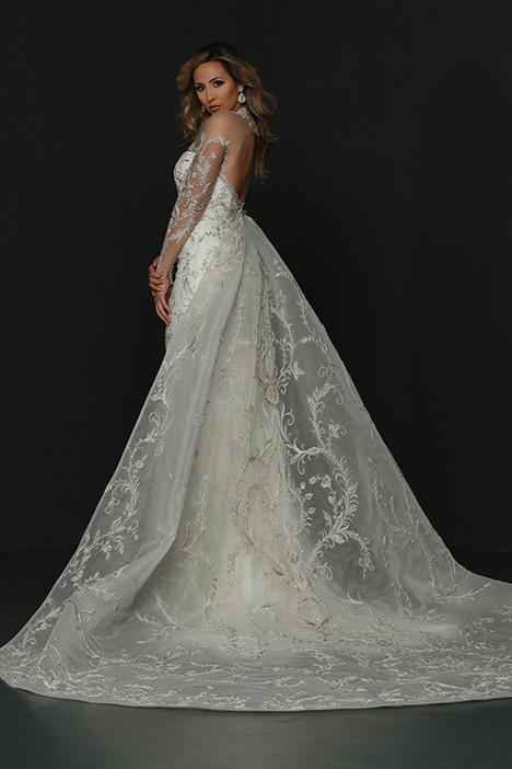 90380 Back Wedding                                          dress by Simone Carvalli