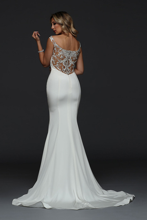 90386 Back Wedding                                          dress by Simone Carvalli