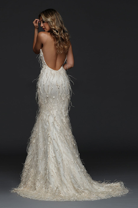 90390 Back Wedding                                          dress by Simone Carvalli