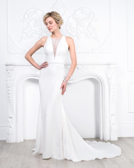 Style 8451 gown from the 2019 Romantic Bridals collection, as seen on dressfinder.ca