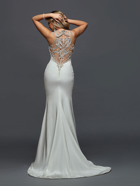 406 Back Wedding                                          dress by Victor Harper