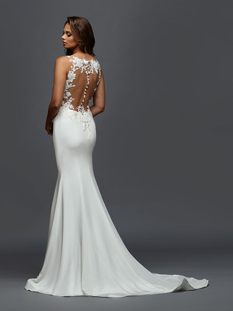 408 Back Wedding                                          dress by Victor Harper