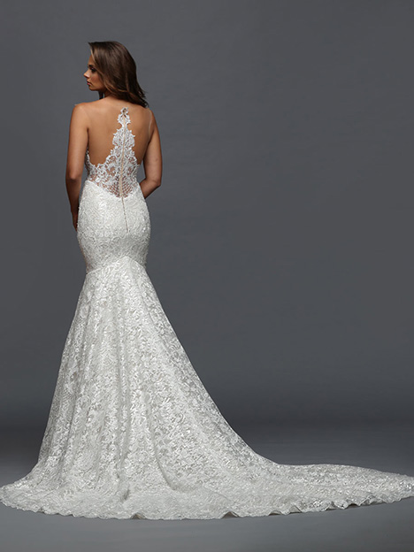 413 Back Wedding                                          dress by Victor Harper