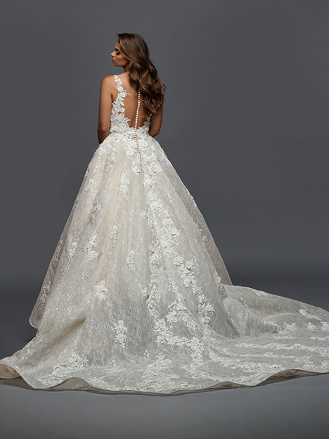416 Back Wedding                                          dress by Victor Harper