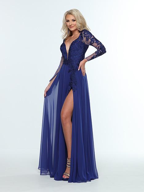 31410 3/4 View Prom dress by Zoey Grey