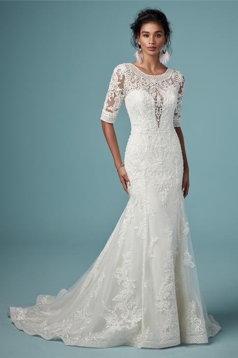 Blake Wedding                                          dress by Maggie Sottero