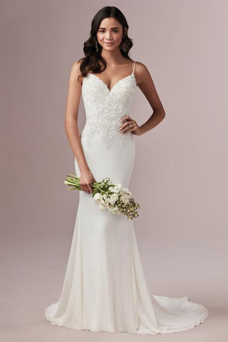 Candice Wedding                                          dress by Rebecca Ingram