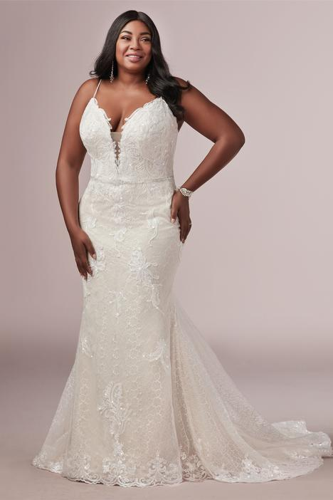 Laurette - Lynette Wedding                                          dress by Rebecca Ingram