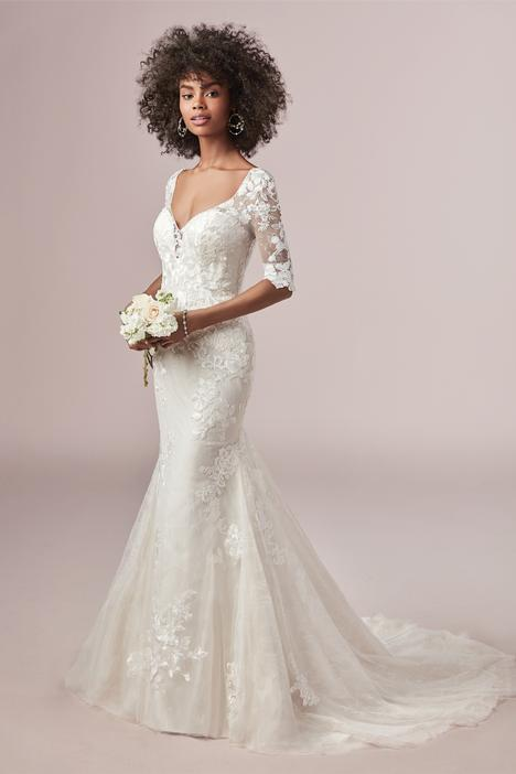 Mandy Wedding                                          dress by Rebecca Ingram