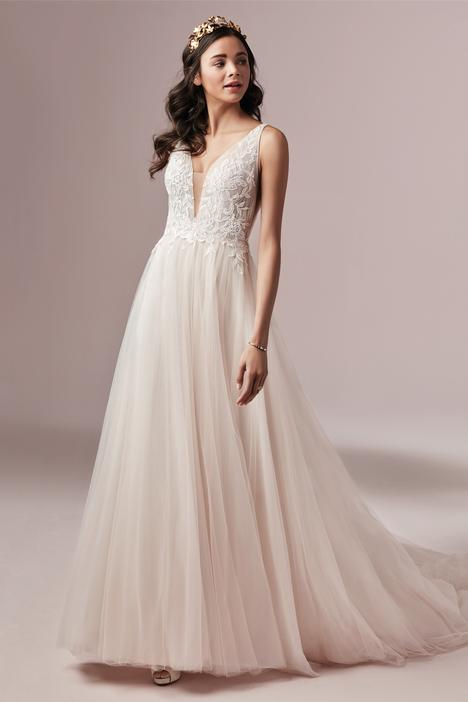 McKenna Wedding                                          dress by Rebecca Ingram