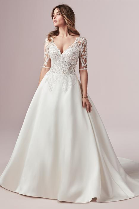 Spencer Wedding                                          dress by Rebecca Ingram