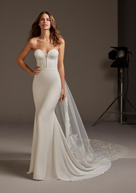Antares Wedding                                          dress by Pronovias