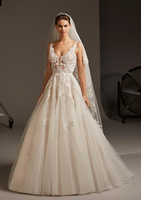 Ariel Wedding                                          dress by Pronovias