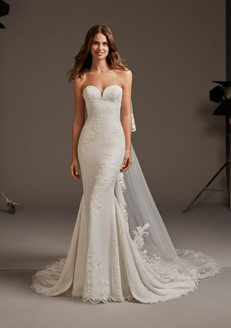 Astrid Wedding                                          dress by Pronovias