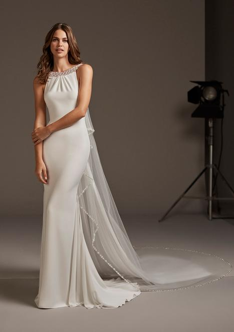 Belinda Wedding                                          dress by Pronovias