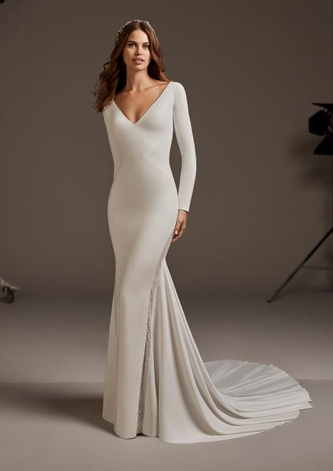 Bianca Wedding                                          dress by Pronovias