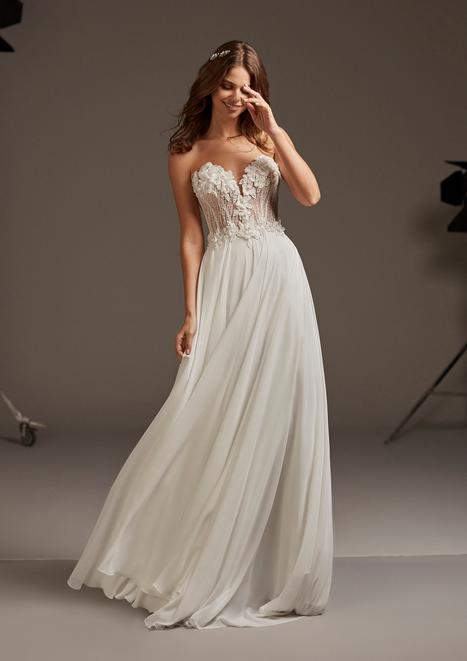 Caelum Wedding                                          dress by Pronovias