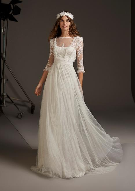 Centaurus Wedding                                          dress by Pronovias