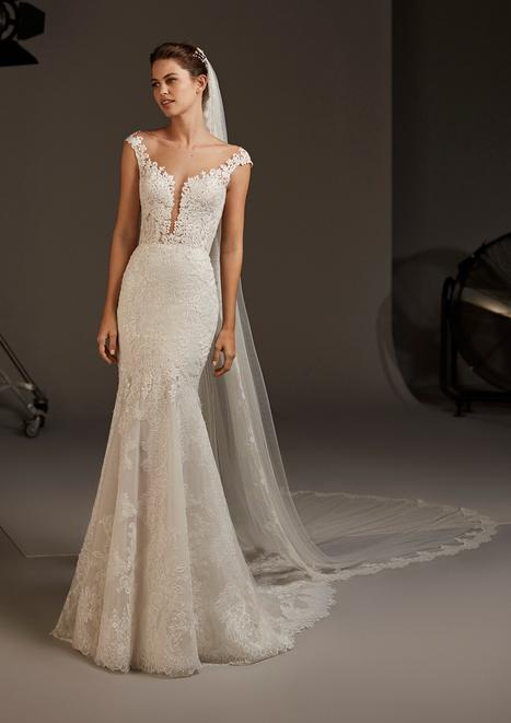DESPINA Wedding                                          dress by Pronovias
