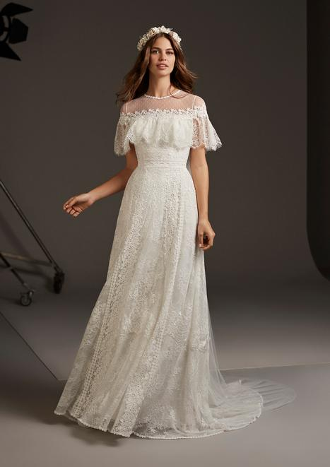 Dorado Wedding                                          dress by Pronovias
