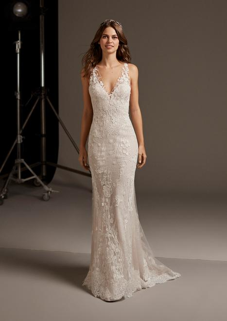 Eos Wedding                                          dress by Pronovias