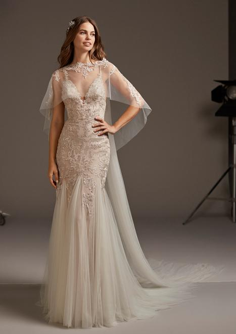 Halley Wedding                                          dress by Pronovias