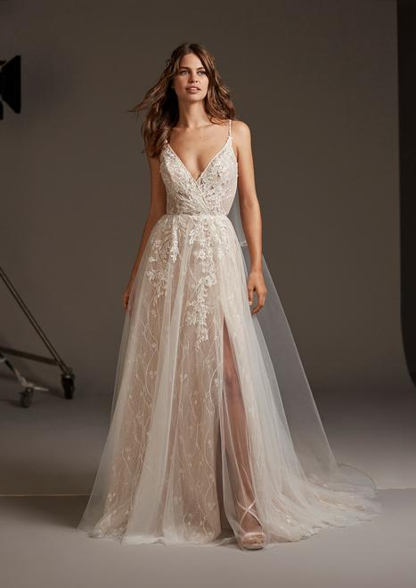 Hyperion Wedding                                          dress by Pronovias