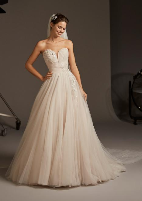 Lacerta Wedding                                          dress by Pronovias