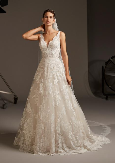 Orion Wedding                                          dress by Pronovias