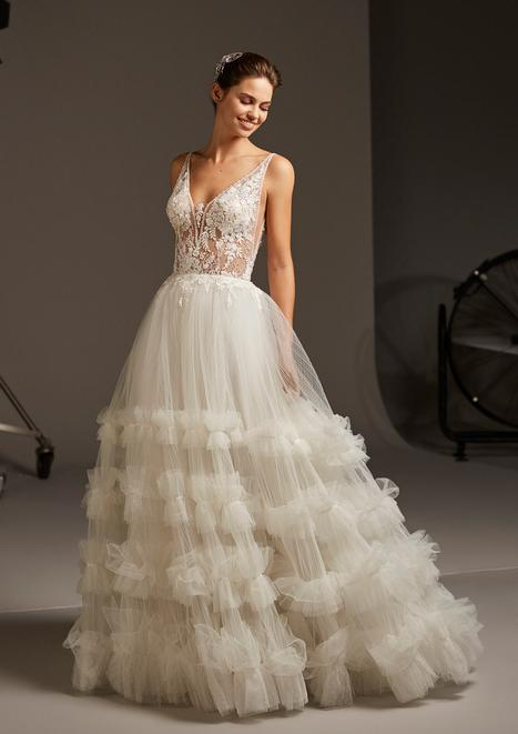 Portia Wedding                                          dress by Pronovias