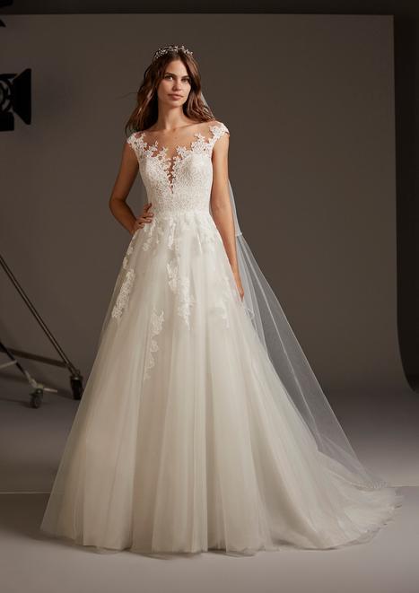 Vulcania Wedding                                          dress by Pronovias
