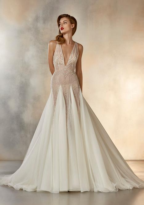 Dreaming Wedding                                          dress by Pronovias Atelier