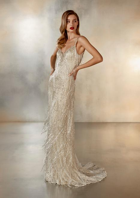 Falling Wedding                                          dress by Pronovias Atelier