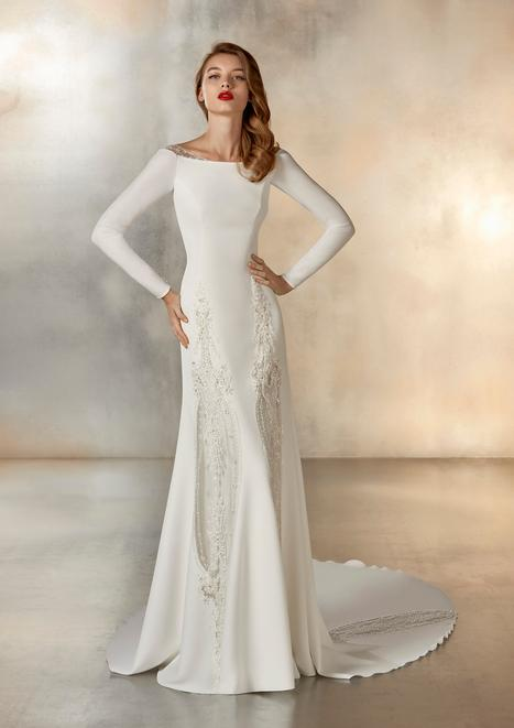 Formation Wedding                                          dress by Pronovias Atelier