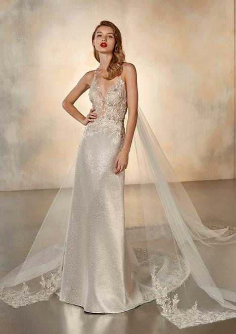 Full Moon Wedding                                          dress by Pronovias Atelier