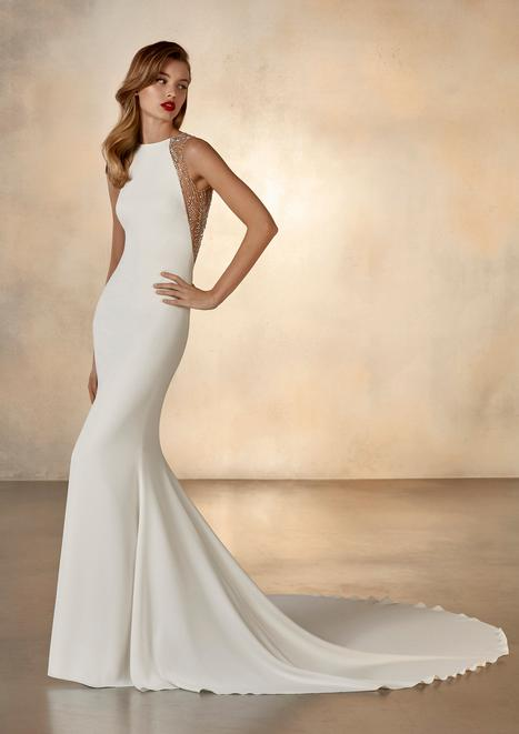 Galaxy Wedding                                          dress by Pronovias Atelier