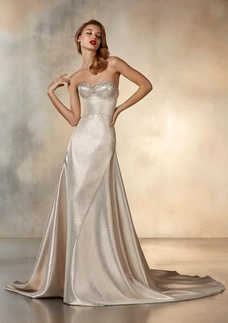 Rising Wedding                                          dress by Pronovias Atelier