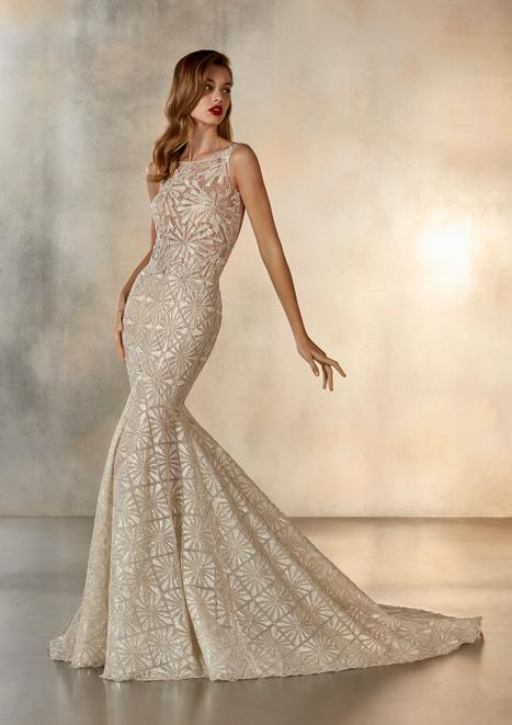Starlight Wedding                                          dress by Pronovias Atelier