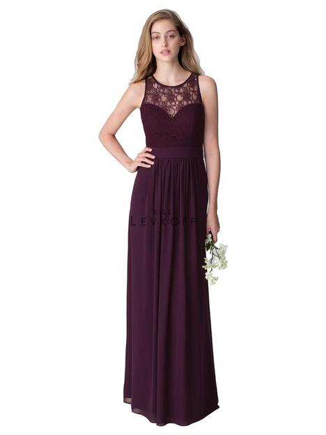 Style 1251 gown from the 2016 Bill Levkoff Bridesmaids collection, as seen on dressfinder.ca
