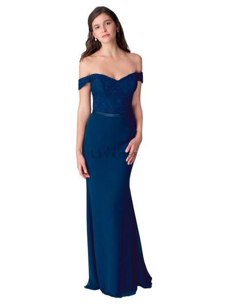 Style 1252 gown from the 2016 Bill Levkoff Bridesmaids collection, as seen on dressfinder.ca