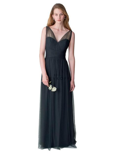 Style 1255 gown from the 2016 Bill Levkoff Bridesmaids collection, as seen on dressfinder.ca