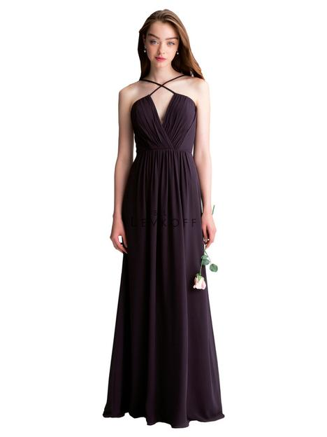 Style 1405 gown from the 2017 Bill Levkoff Bridesmaids collection, as seen on dressfinder.ca