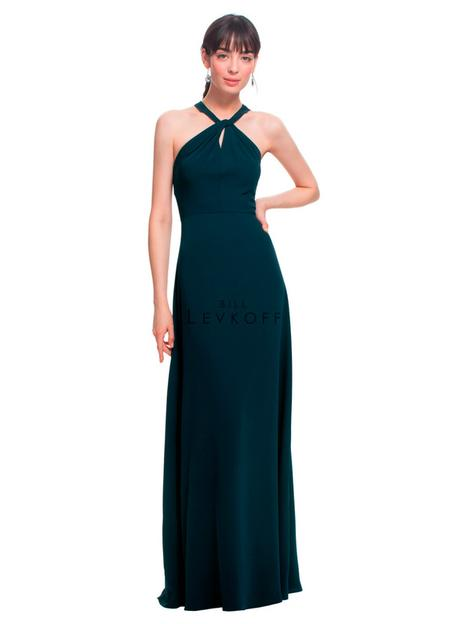 Style 1452 gown from the 2018 Bill Levkoff Bridesmaids collection, as seen on dressfinder.ca