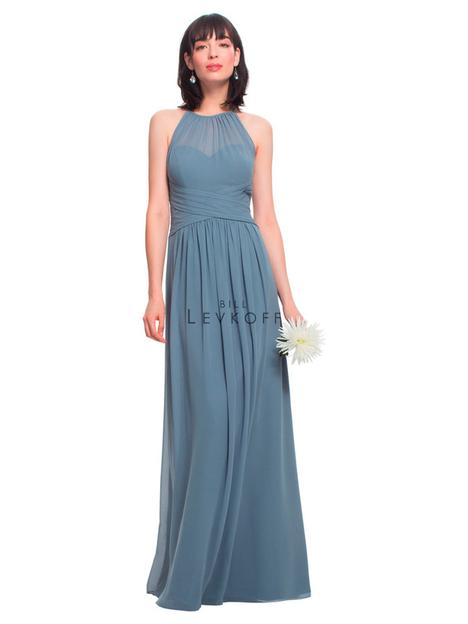 Style 1457 gown from the 2018 Bill Levkoff Bridesmaids collection, as seen on dressfinder.ca