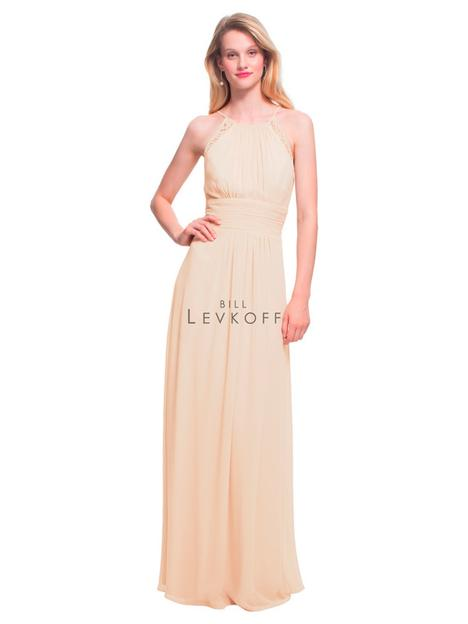 Style 1463 gown from the 2018 Bill Levkoff Bridesmaids collection, as seen on dressfinder.ca