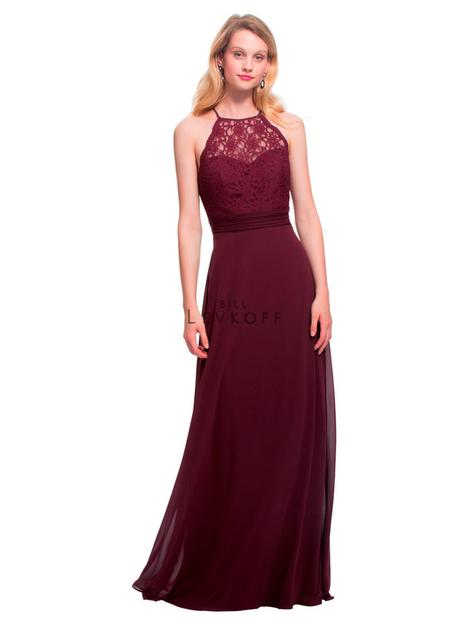 Style 1464 gown from the 2018 Bill Levkoff Bridesmaids collection, as seen on dressfinder.ca