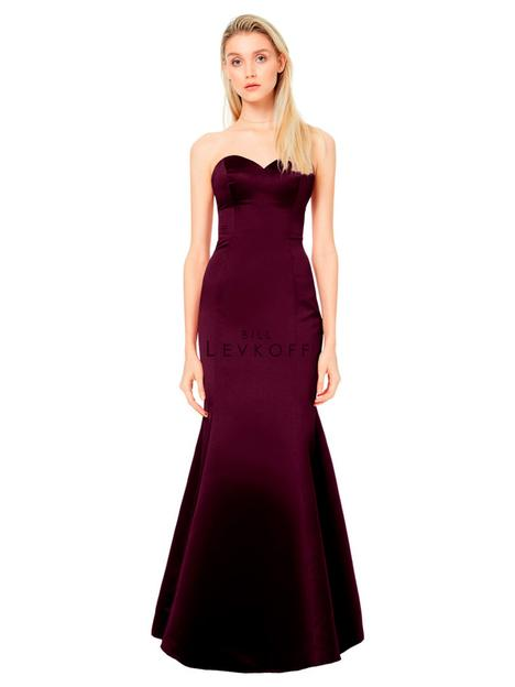 Style 1511 gown from the 2018 Bill Levkoff Bridesmaids collection, as seen on dressfinder.ca