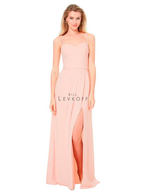 Style 1518 gown from the 2018 Bill Levkoff Bridesmaids collection, as seen on dressfinder.ca