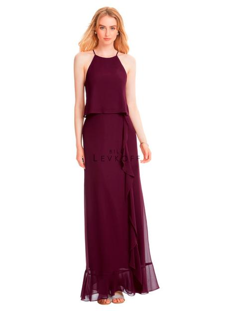 Style 1555 gown from the 2019 Bill Levkoff Bridesmaids collection, as seen on dressfinder.ca