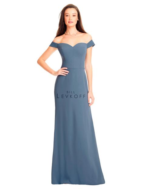 Style 1561 gown from the 2019 Bill Levkoff Bridesmaids collection, as seen on dressfinder.ca